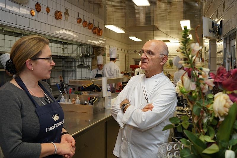 Jean Claude Bourgueil ist sicherlich einer der Großen des Kochhandwerks, einer der nachhaltig die Spitzengastronomie der letzten Jahre prägte / © Redaktion Lustfaktor