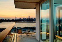 Traumhafter Ausblick vom Hotel The William Vale auf die City von New York