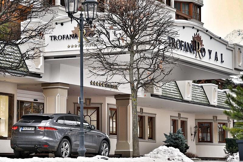 Das Trofana Royal ist das erste Haus am Platz