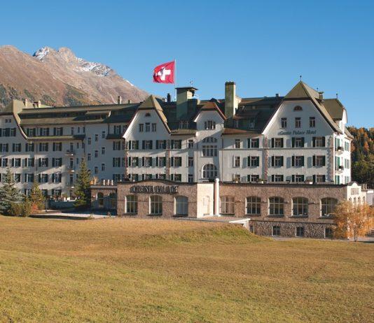 Das Hotel Cresta Palace pflegt seit über hundert Jahren die Schweizer Hoteltradition
