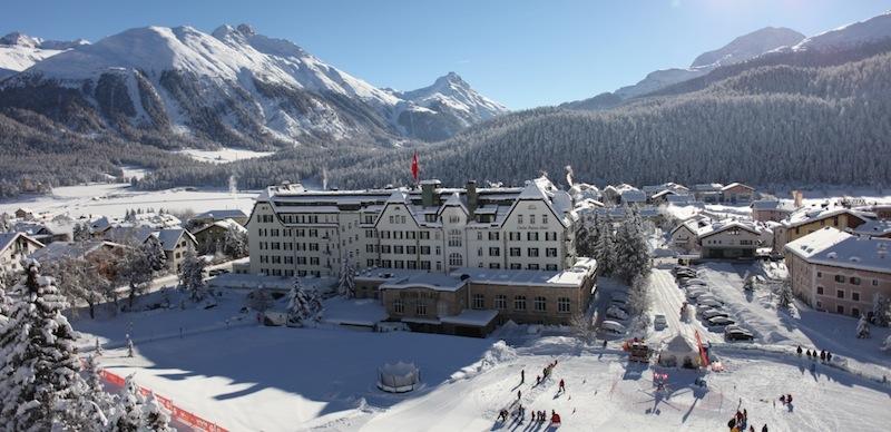 Zur kalten Jahreszeit wird die Umgebung des Cresta Palace zum Winterwonderland
