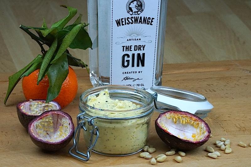 Gin-Butter selbstgemacht - ein besonderer kulinarischer Genuss auf gegrilltem Fleisch