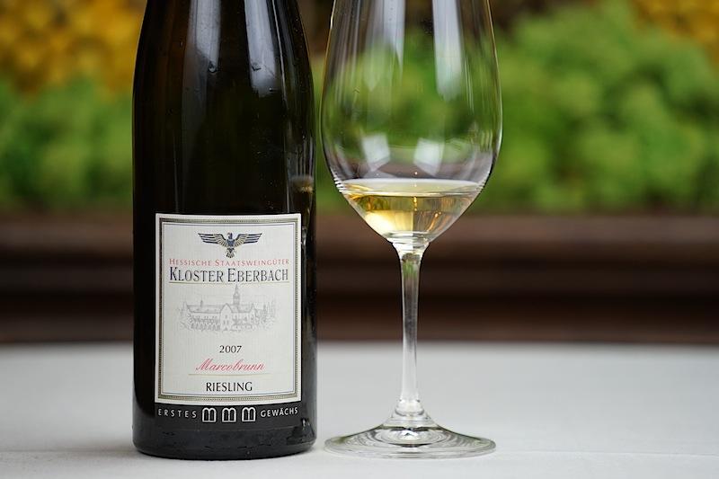 Kloster Eberbach ist Mitglied im VDP. Marcobrunn zählt zu den besten Lagen, die außergewöhnliche Weine hervorbringt.