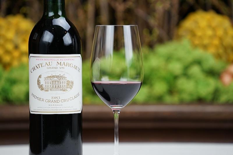 1983 Rotwein Grand Vin Chateau Margaux – Premier Grand Cru Classe