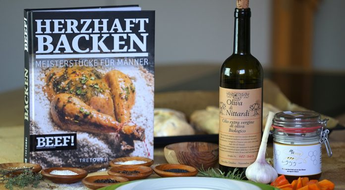 Kochbuch Rezension: Herzhaft Backen - Männer kochen anders