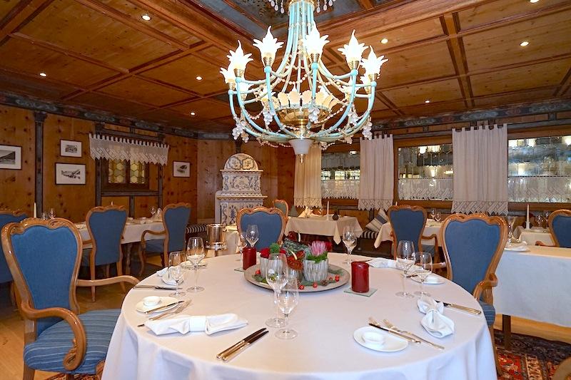 Die noble Paznaunerstube war das erste Hauben Restaurant Skiort Ischgl