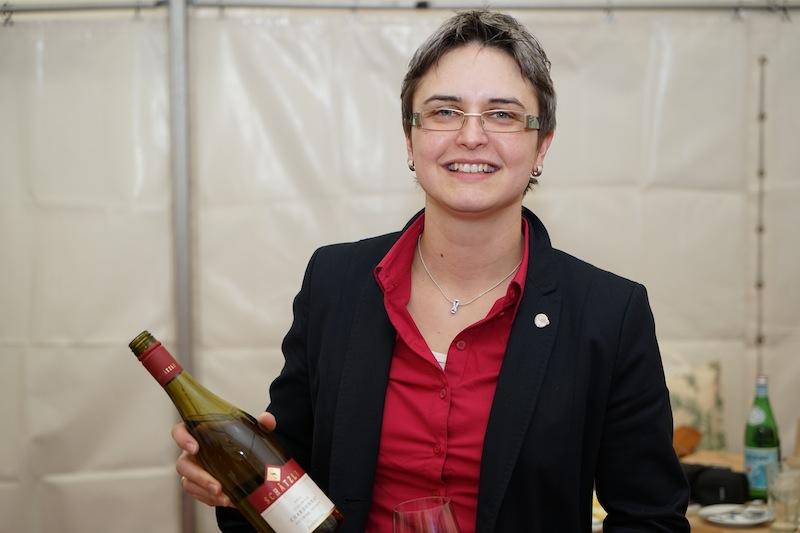 Aus dem Weinbaugebiet Baden war Dipl. Ing. in Weinbau & Oenologie Franziska Schätzle (li.) vom Weingut Georg & Thomas Schätzle vertreten