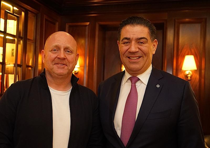 General Manager Spiridon Sarantopoulos wurde erneut mit der Führung des 5 Sterne Steigenberger Hotels Frankfurter Hof betraut
