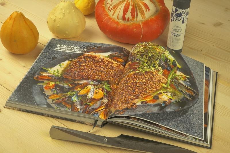 Appetitlich werden die einzelnen Gerichte in den Kochbüchern des Tre Torri Verlages in Szene gesetzt