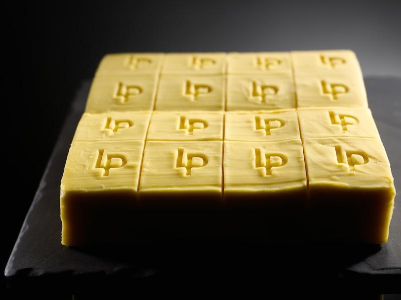 Die Le Ponclet Butter ist nahezu einzigartig. Nur 20 Restaurants verwenden diese Butter