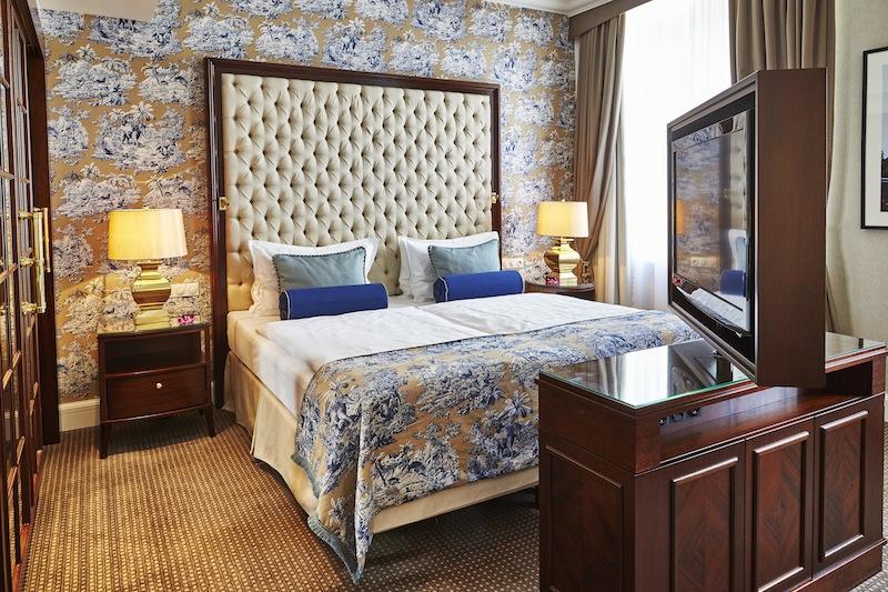 Ein Blick ins Schlafzimmer der Executive Suite