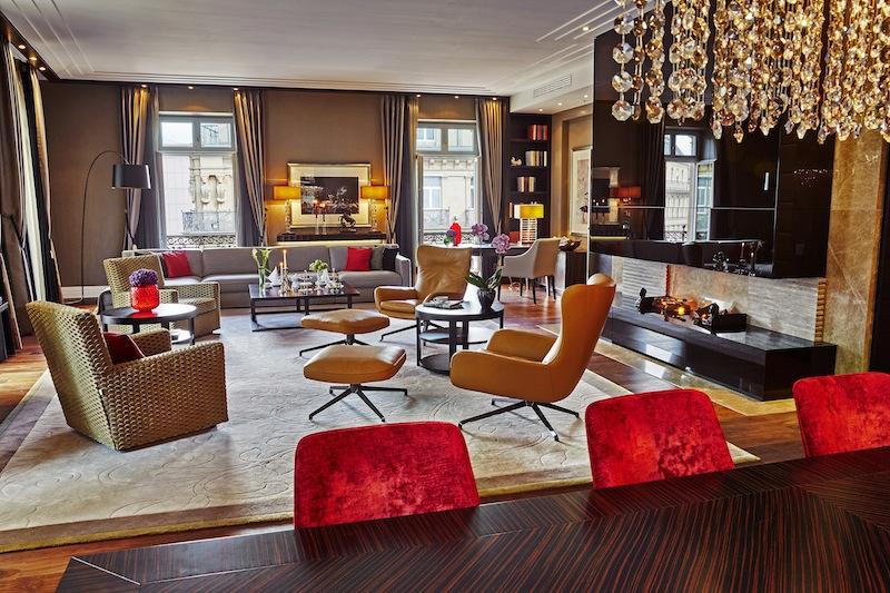 Hohe Standards für luxusgewöhnte Reisende setzt in jeder Hinsicht die Royal Suite