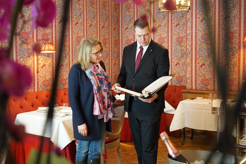 Für Sommelier Sebastian Höpfner bringt das Spiel mit Aromen, mit Schärfe und Süße immer neue Herausforderungen