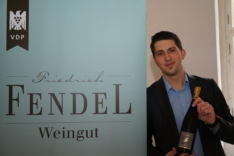 Weingut Friedrich Fendel aus Rüdesheim am Rhein war ebenfalls präsent auf der VPD-Veranstaltung