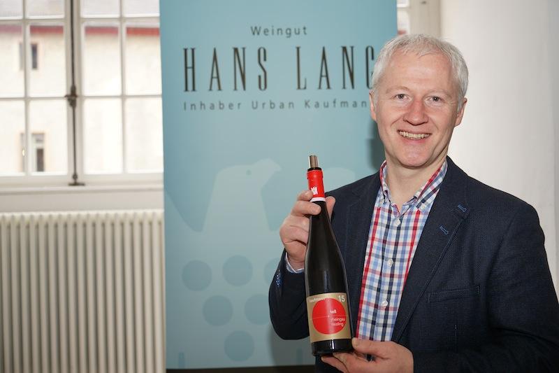 Urban Kaufmann präsentierte das VDP Weingut Hans Lang aus Hattenheim