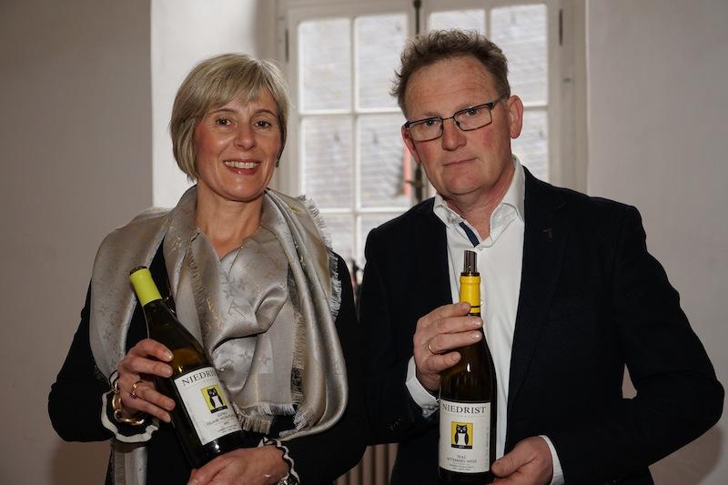 Das Weingut Ignaz Niedrist aus Girlan in Südtirol präsentierte sich ebenfalls auf der VDP Veranstaltung im Kloster Eberbeach