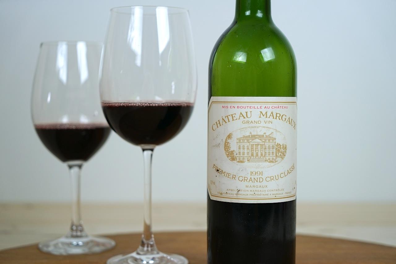 1991 Rotwein Grand Vin Chateau Margaux – Premier Grand Cru Classe