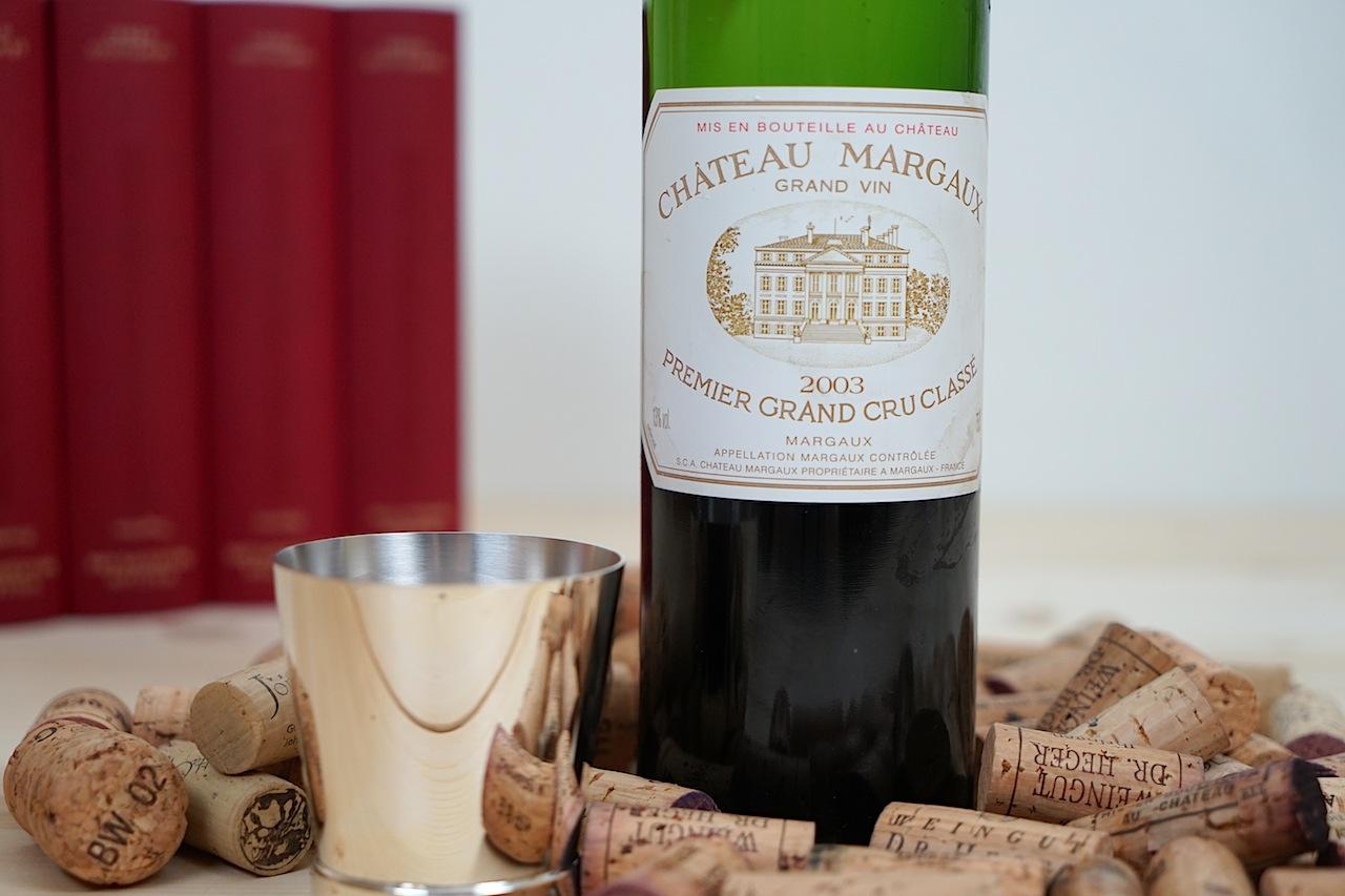 2003 Rotwein Grand Vin Chateau Margaux – Premier Grand Cru Classe