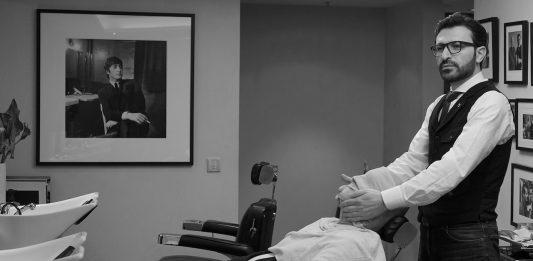 Barbiermeister Mounir Damlkhi: Der begehrenswerteste und beste Barber der Welt. Herausgeber von FrontRowSociety Andreas Conrad begibt sich in seine meisterhaften Hände