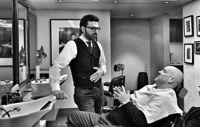 Mounir Damlkhi nimmt sich Zeit für seine Kunden, beginnt mit einer ausführlichen Expertise