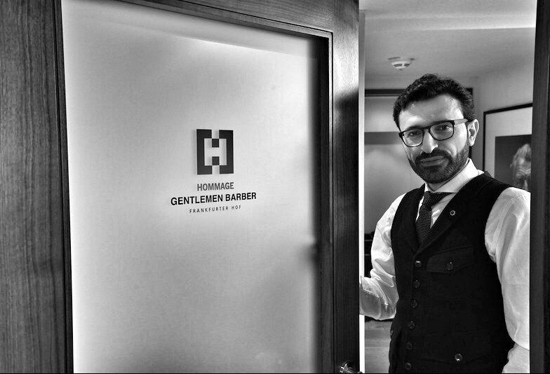 Hereinspaziert: Zum begehrtesten und besten Barber, Mounir Damlkhi