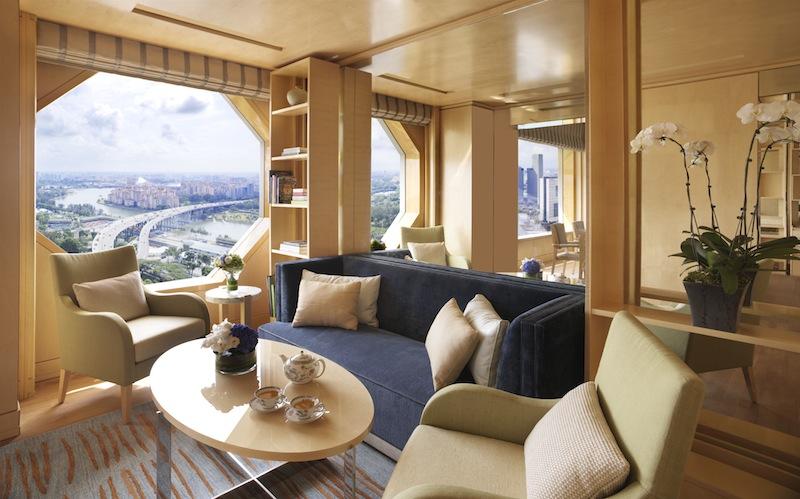 Die Club Lounge bietet einen Ort zum Entspannen...