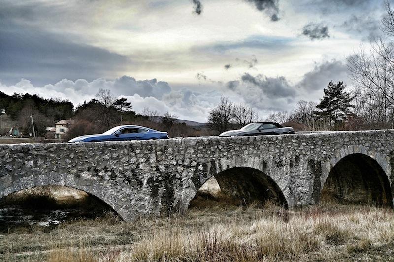 Mit dem Ford Mustang ausgefahren: Im Hinterland der Côte d'Azur scheint die Zeit stehen geblieben zu sein