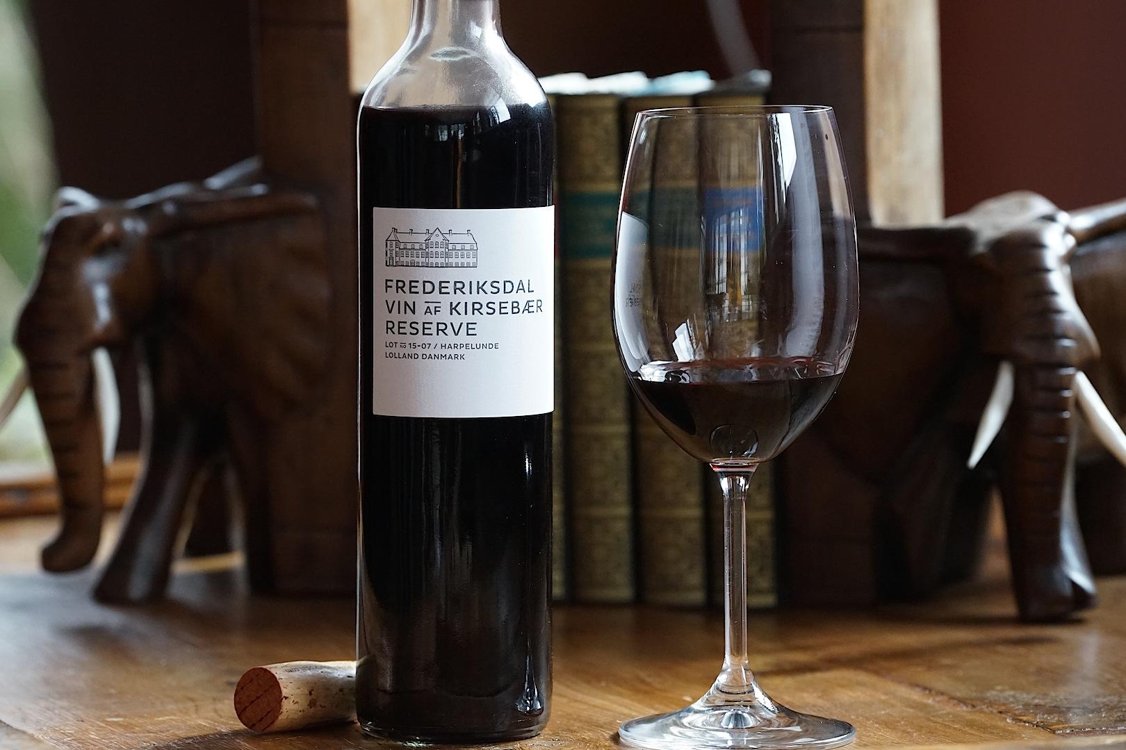 Frederiksdal Vin Kirsebaer Reserve: Erstklassiger Wein aus dänischen Kirschen