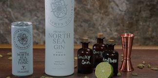 North Sea Gin vom Skiclub Kampen ist sehr gefragt