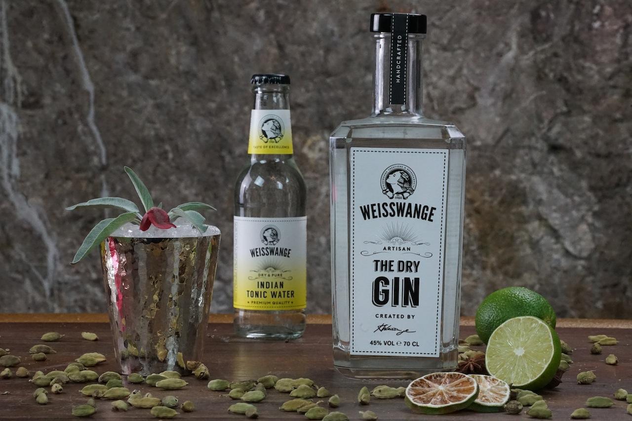 Weisswange Gin und Weisswange Tonic, eine himmlische Versuchung