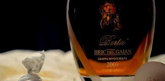 Bric Del Gaian: Reinsortiger Grappa aus der Moscato-Traube