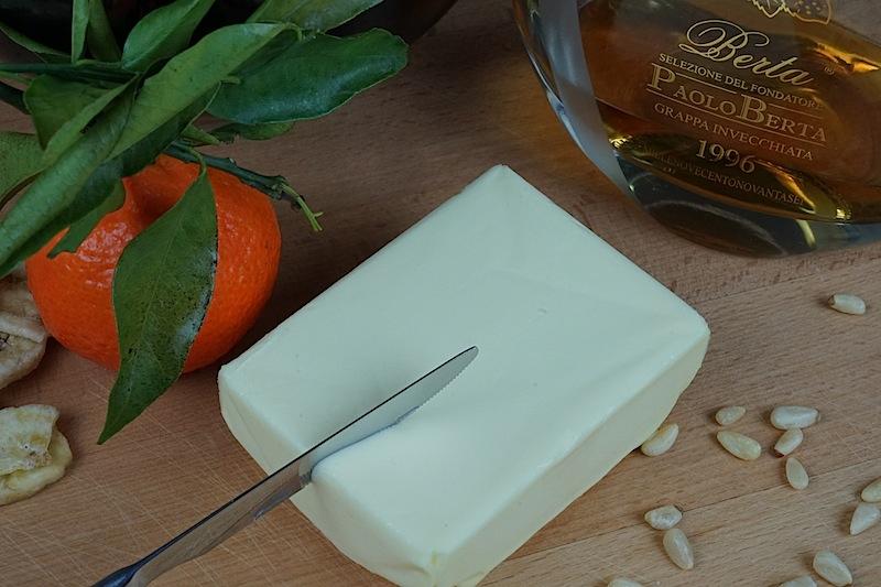 Paolo Berta Selezione: Aus den Grappas von Berta lässt sich auch eine erstklassige Grappa-Butter herstellen