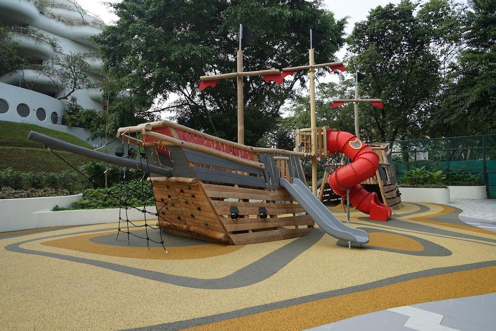 Es gibt in Singapur wohl kein zweites Hotel, welches für Kinder ein solch großes Angebot hat, wie das Shangri-La