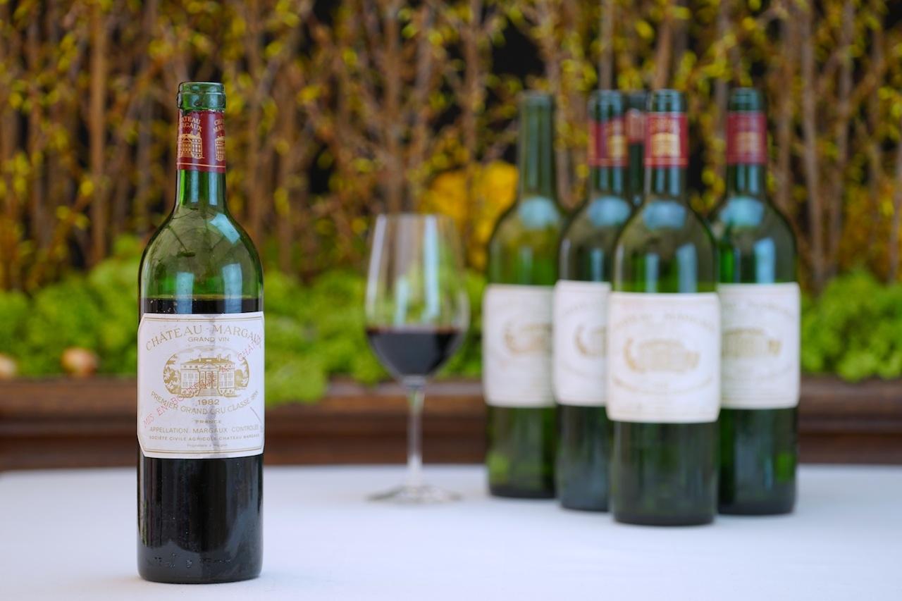 1982 Rotwein Grand Vin Chateau Margaux – Premier Grand Cru Classe