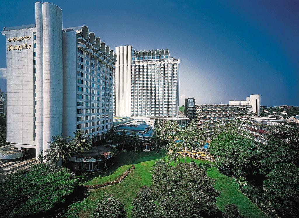 Obwohl das Shangri-La über 700 Gästezimmer verfügt, lässt es sich hier ruhig und enpstannend residieren