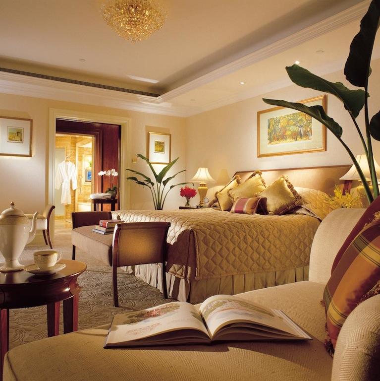 Ein Blick in eine der Suiten im Valley Wing