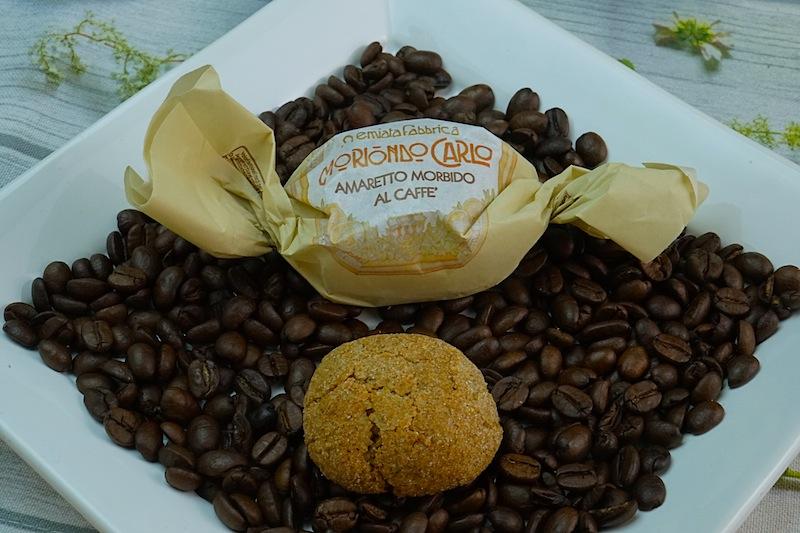 Eine kleine Köstlichkeit nicht nur für Kaffeeliebhaber: Moriondo Carlo Amaretto Morbido al Caffe
