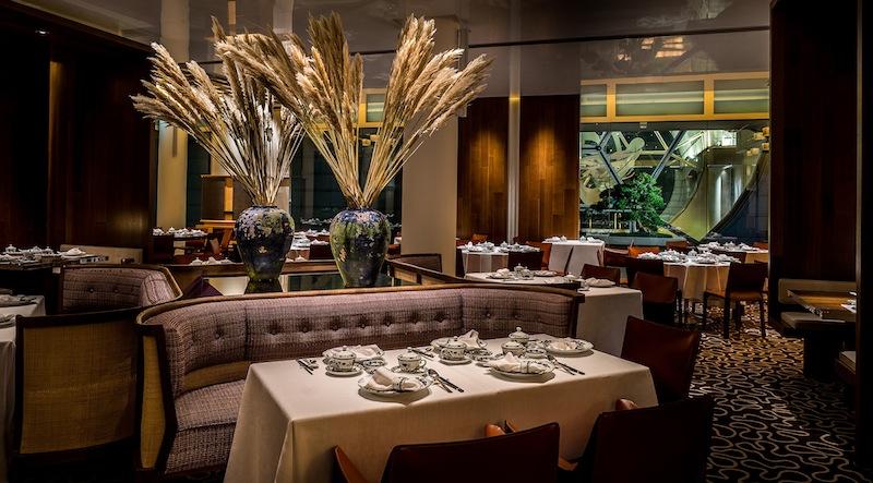 Das Fine Dining Restaurant Summer Pavilion ist seit Jahren mit einem Michelin-Stern ausgezeichnet
