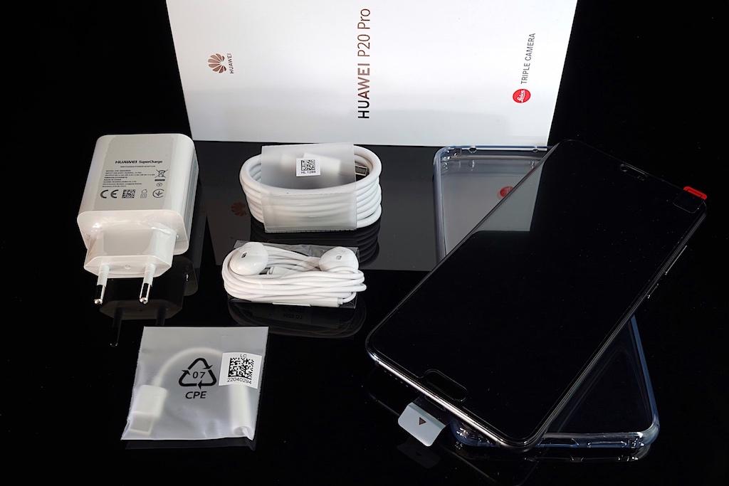 Auspacken und gespannt sein - das neue Huawei P20 Pro
