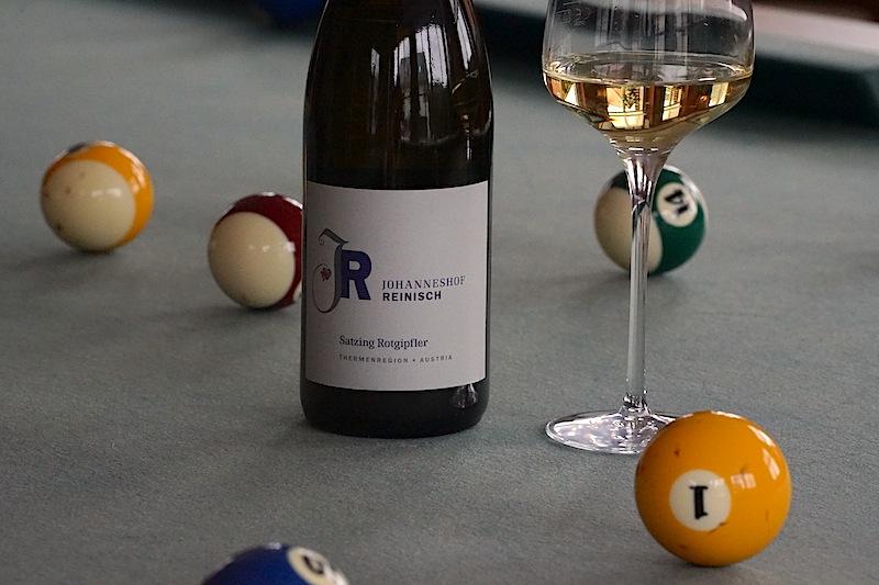 Weißwein der besonderen Klasse: Der 2016 Satzing Rotgipfler vom Weingut Reinisch