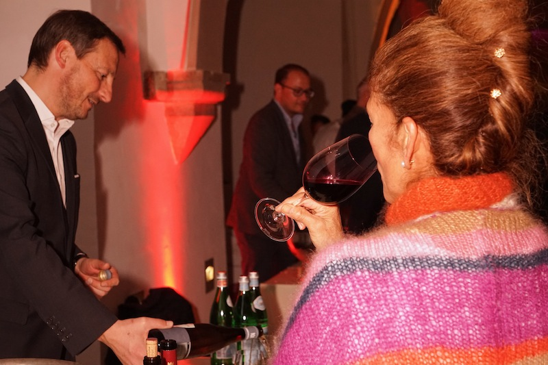Welcome Party des Rheingau Gourmet & Wein Festivals - Genießen steht im Vordergrund