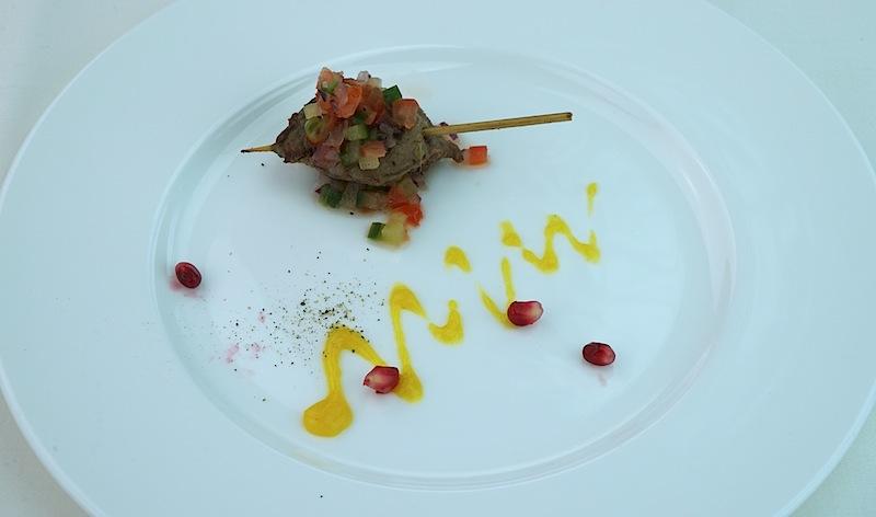 Mit herzlichen Grüßen von der Insel Sansibar: Anuraag Ramkalawons Curry Mishikaki vom Rind mit Lemon-Relish