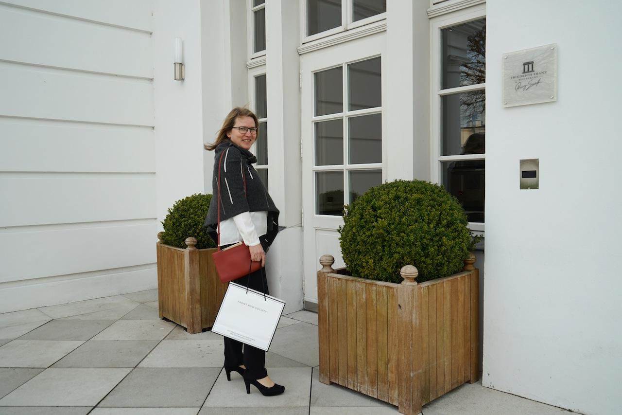 FrontRowSociety auf den Weg ins Sterne Restaurant Friedrich Franz zur exklusiven Launch von Minus 181