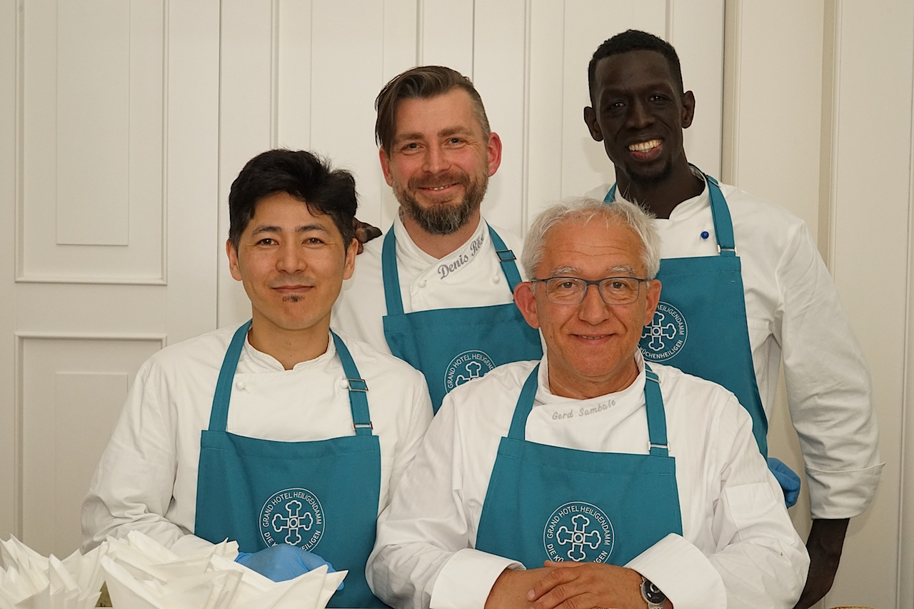 Der Kochnachwuchs von der Berufsschule Bad Doberan hatte heute Abend seinen großen Auftritt mit ...