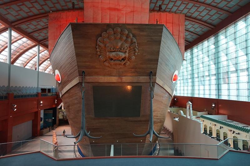 Jewel of Muscat wurde in ihrer gesamten Größe nahezu original nachgebaut - in Singapur ist alles Superlative