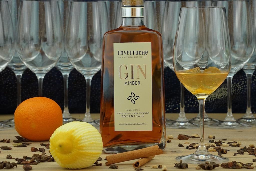 Zum Digestif gab es den Inverroche Gin Amber - geschmacklich eine Wucht
