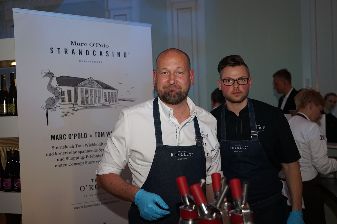 Sternekoch Tom Wickboldts neues Restaurant The O'ROOM trägt seit November 2017 einen Michelin Stern