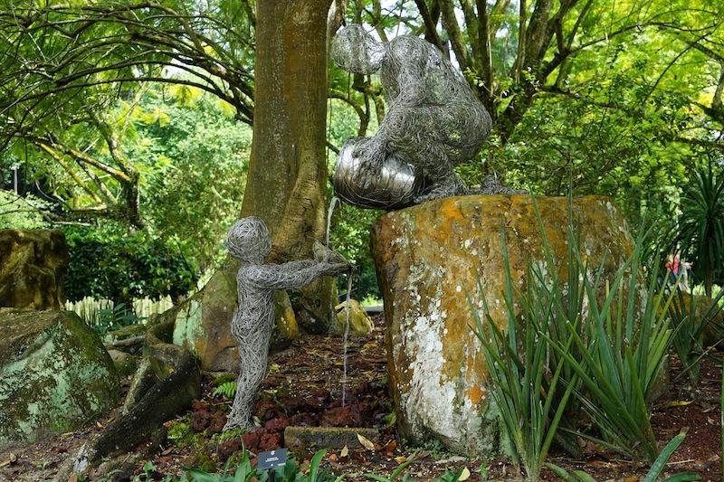 Botanischer Garten in Singapur: Eine grüne Oase der Ruhe; an nahezu jeder Stelle gibt es Neues zu entdecken
