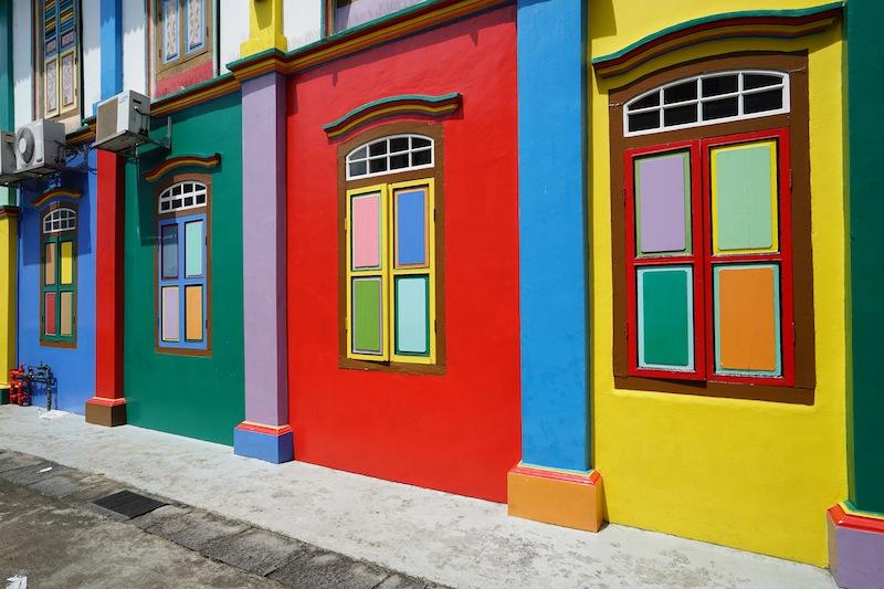 Auch leerstehende Häuser erhalten eine Schönheitskur - so verfällt kein Haus und mit ihm ein Stadtteil