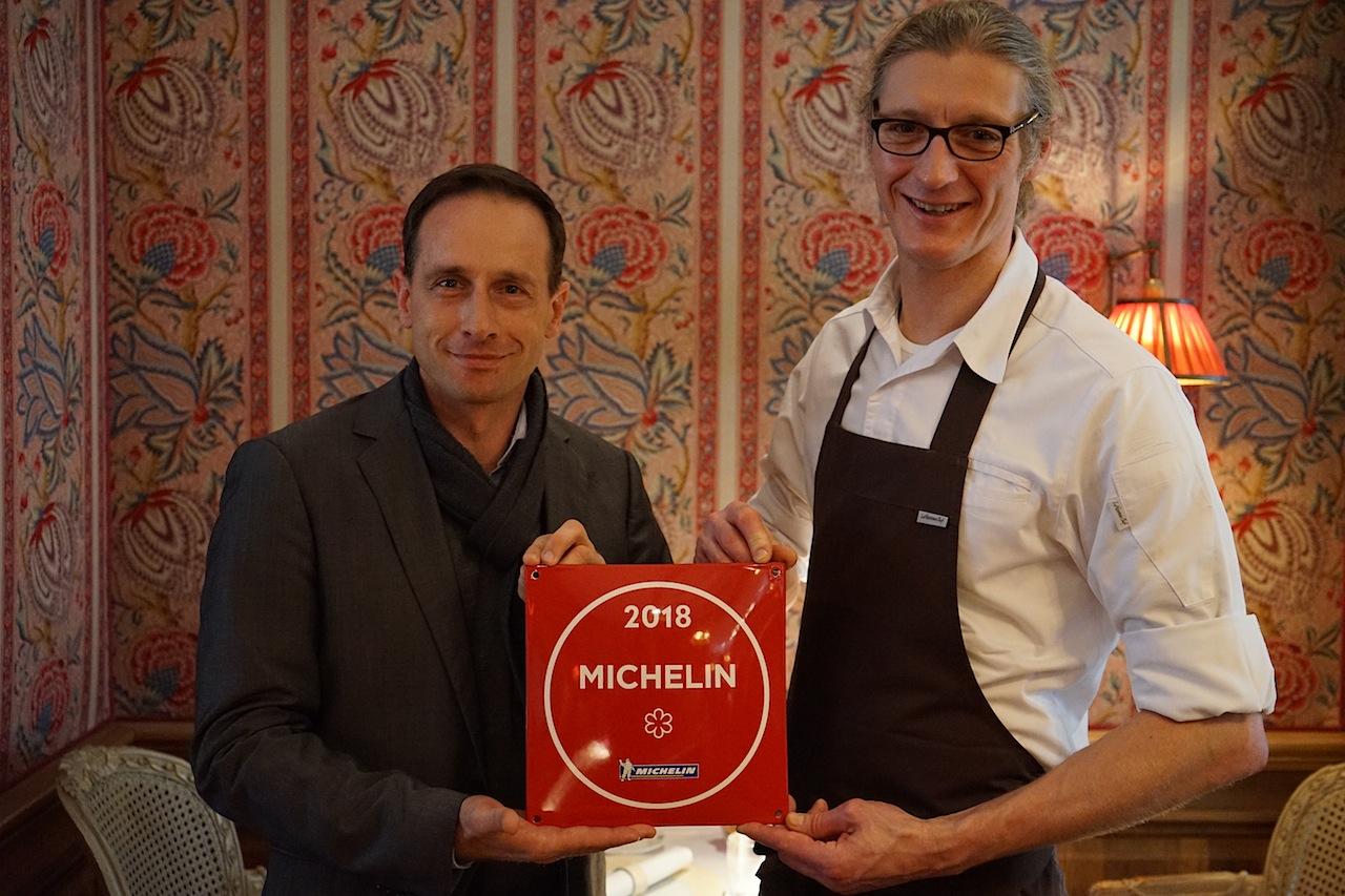 Am Tag unserer Reportage bekam Patrick Bittner erneut den begehrten Michelin-Stern überreicht